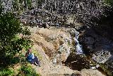 Etiwanda_Falls_240_02272021 - Looking at the context of where people were chilling out to enjoy the rewards of their efforts for reaching the Etiwanda Falls as seen on our late February 2021 visit
