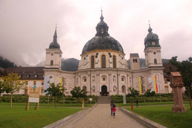 Ettal_010_07212018 - This was the impressive Ettal Monastery, which was less than 10km north of Farchant. It seemed to be a pretty important holy Benedictine place of worship over the centuries