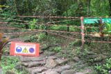Faarumai_Waterfalls_009_20121215 - A familiar closure barricade for both Haamaremare Iti and Haamaremare Rahi waterfalls