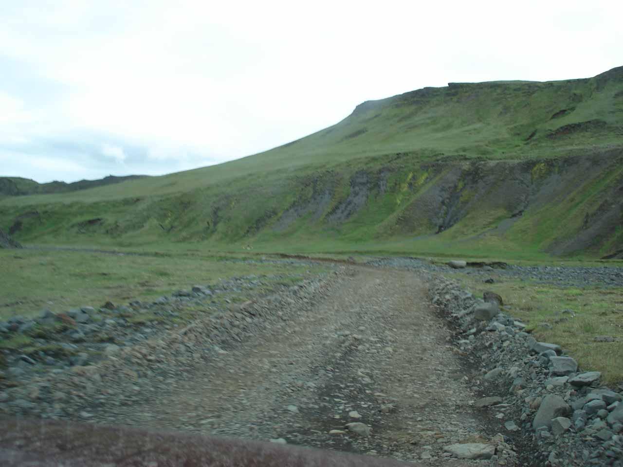 Lakavegur was a pretty bumpy road
