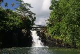 Falefa_Falls_021_11122019 - More focused look at the main drop of the Falefa Falls. Notice the smaller segment of the falls hidden in the shadows