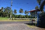 Falefa_Falls_080_11122019 - The signed entrance to the car park for Falefa Falls