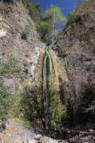 Falls_Canyon_Falls_085_02212016 - Contextual view of Falls Canyon Falls backed by blue skies