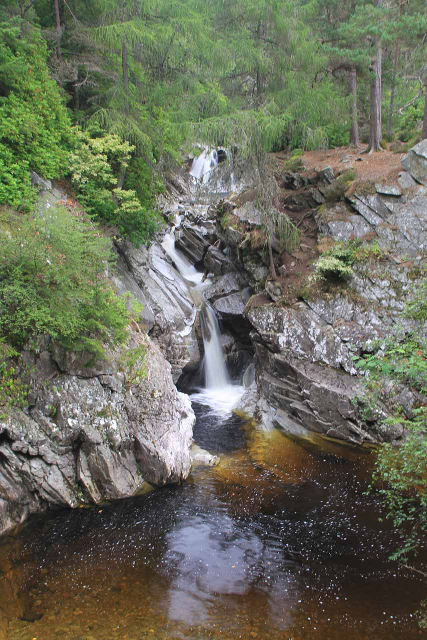 One of the Lower Falls of Bruar