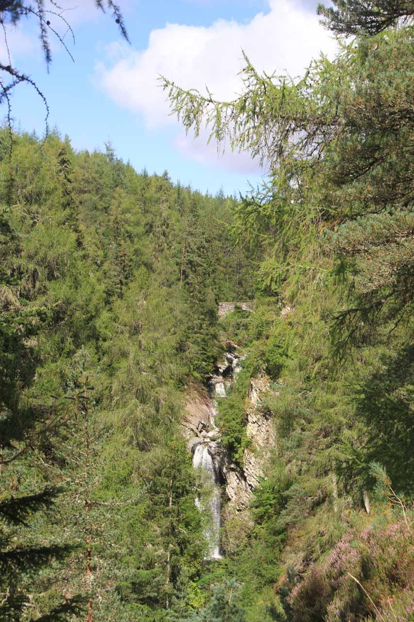 A contextual look at the Upper Falls of Bruar
