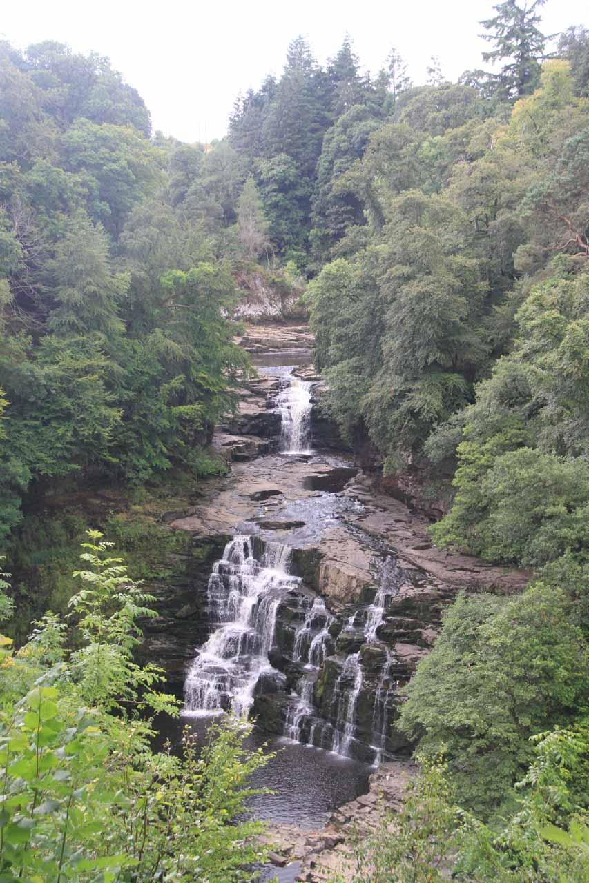 My first look at the impressive Cora Linn Waterfall