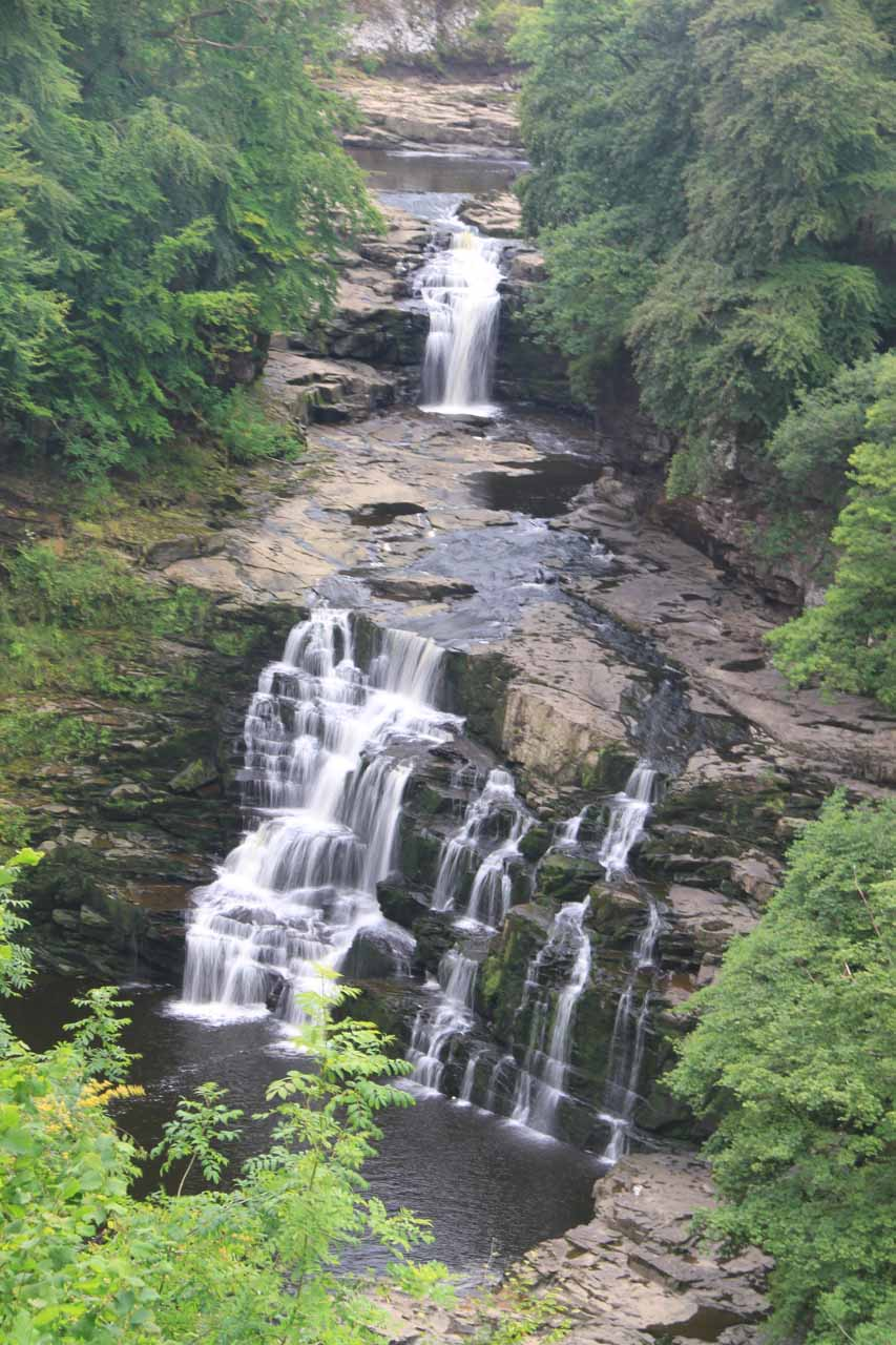 Cora Linn - one of the three main waterfalls of the Falls of Clyde