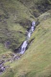 Falls_of_Glomach_087_08242014 - Zoomed in look at one of the side cascades spilling into the Allt an Leoid Ghaineamhaich Valley