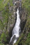 Falls_of_Glomach_183_08242014 - Looking down at the upper main drop of Falls of Glomach