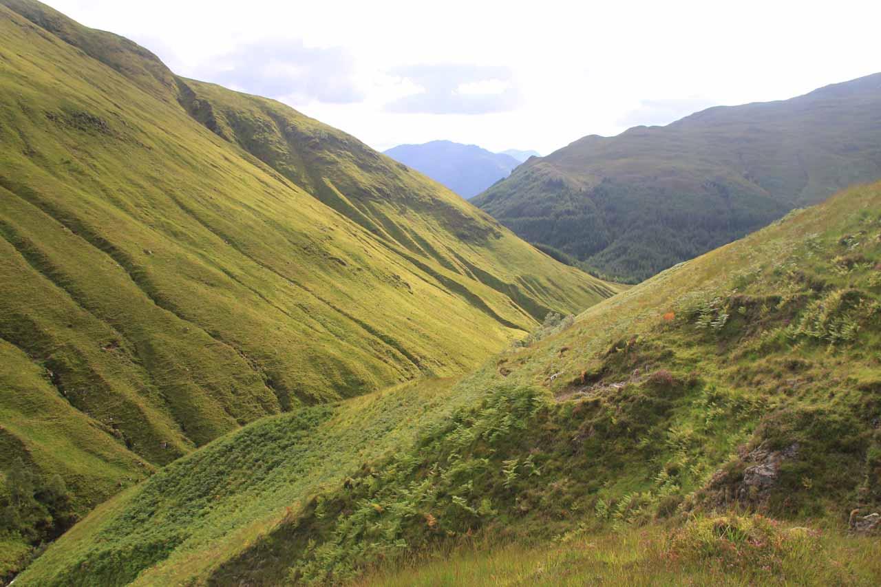 Back in the valley of Allt an Leoid Ghaineamhaich