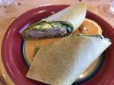 Farmstand_Hood_River_004_iPhone_08162017 - This was Julie's gluten free version of some kind of wrap that she got at Farmstand in Hood River