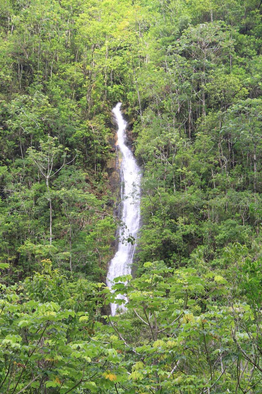 One of the hidden waterfalls in Fautaua Valley