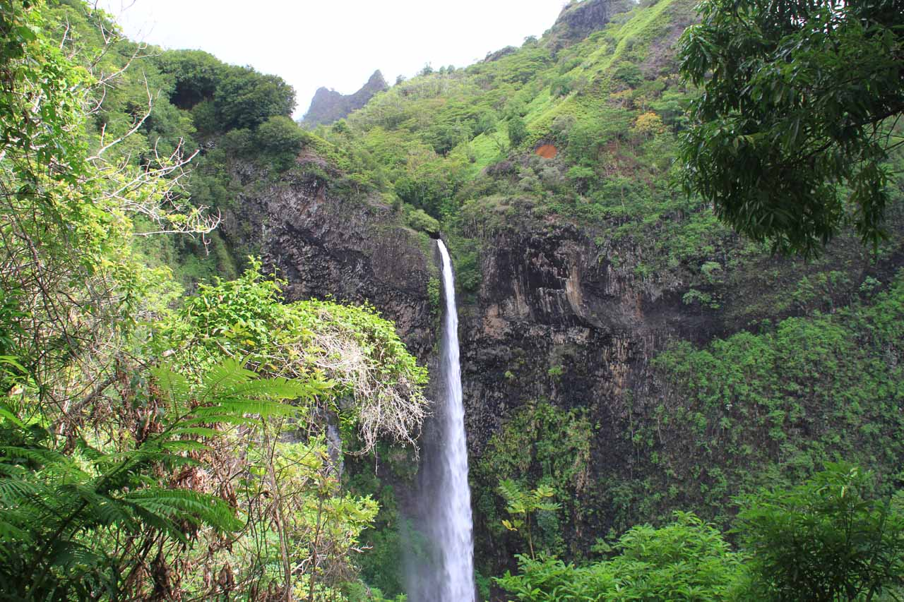 A Tahiti Waterfall