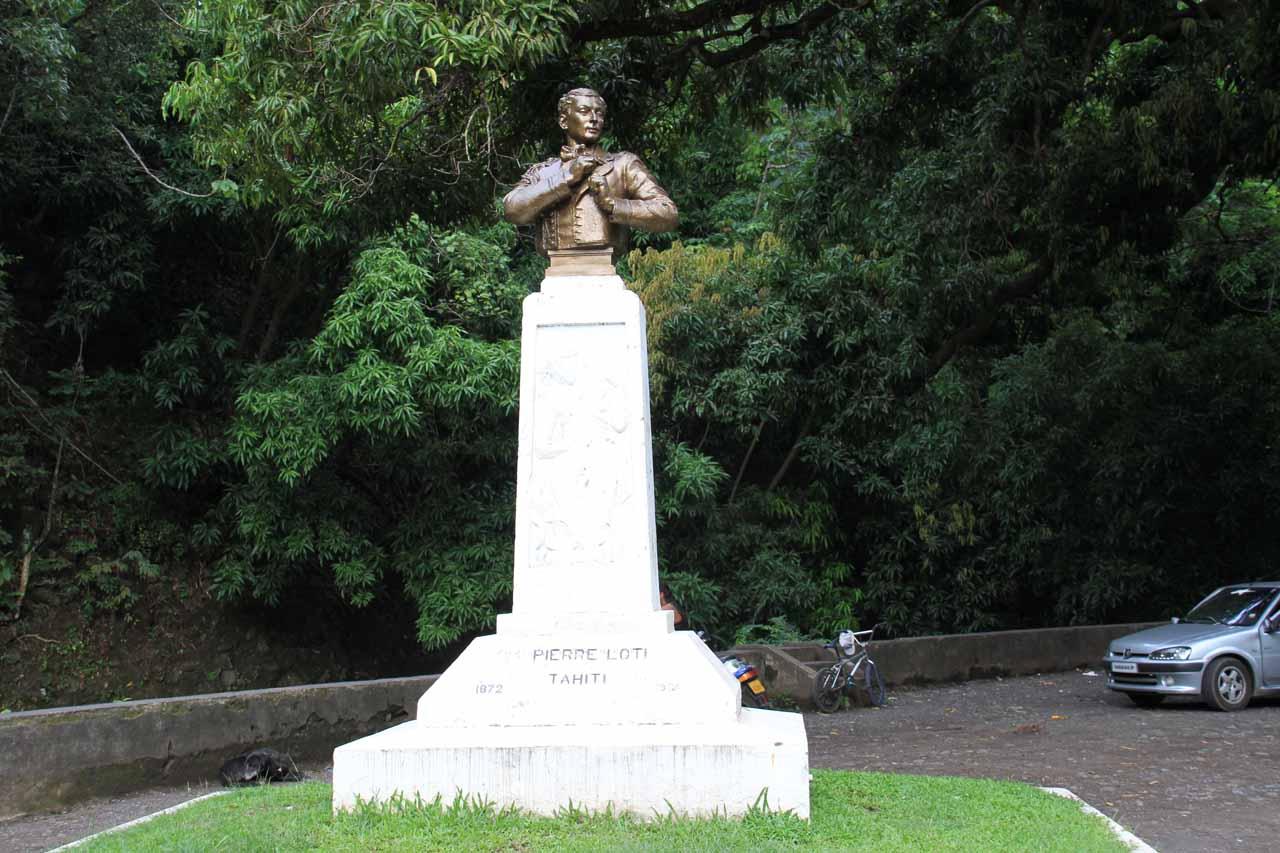 Pierre Loti memorial by Bain Loti