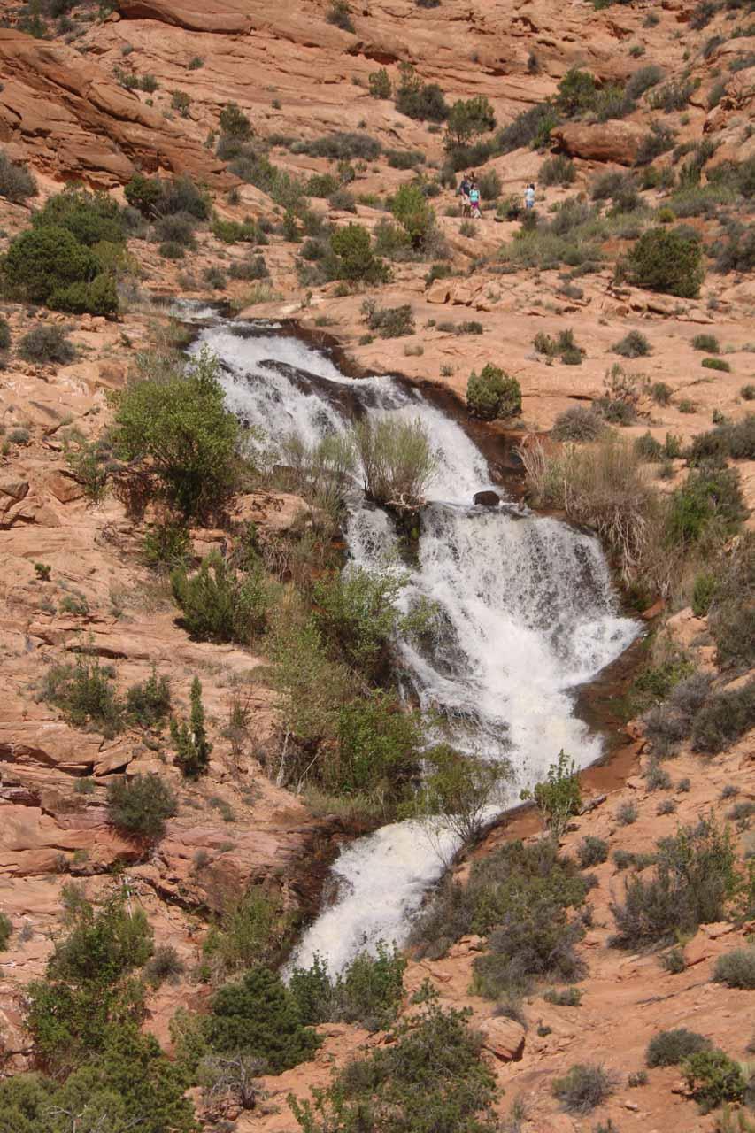 Faux Falls in full flow