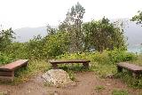 Feigefossen_119_07202019 - Benches set up at the utsikt for Feigefossen