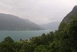 Feigefossen_130_07202019 - Looking over towards Lustrafjorden in the bad weather as I was leaving Feigefossen