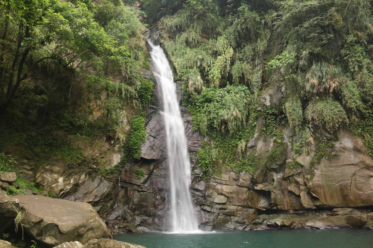 The Fenghuang Waterfall in Chiayi County