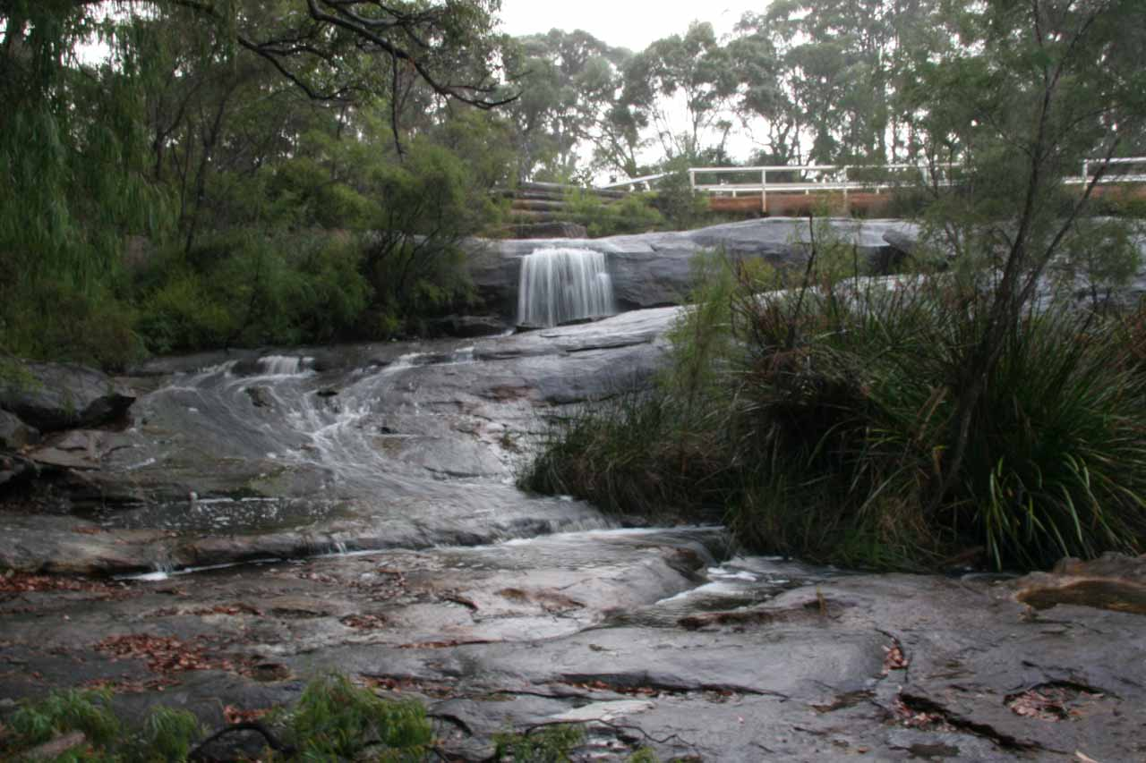What's left of Fernhook Falls