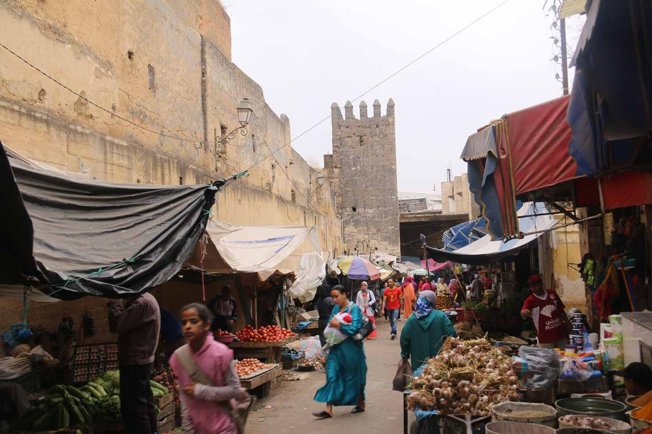More of the souk as we made our way to Place Baghdadi