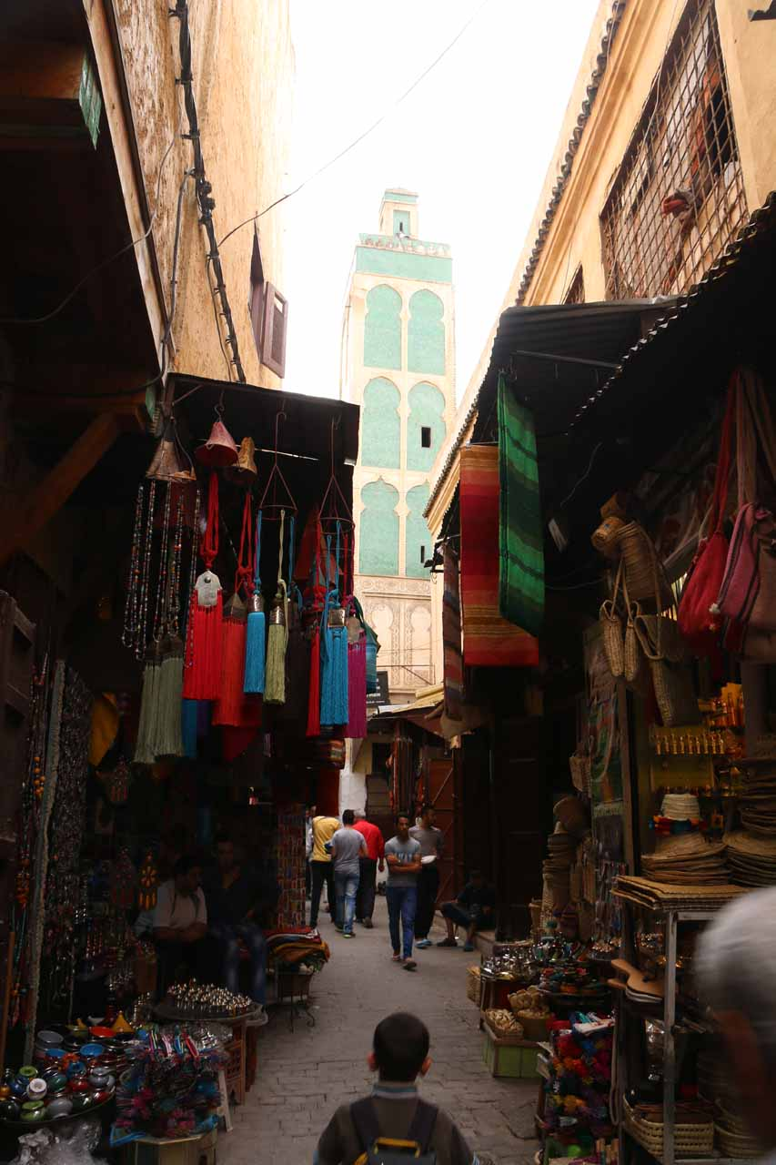 Back in the souks near our riad