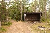 Fettjeafallet_006_07112019 - The shelter at the trailhead to Fettjeafallet