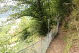 Finsterbach_Waterfalls_093_07112018 - Another contextual look at the cliff-hugging spur trail coming back from the second of the Finsterbach Waterfalls