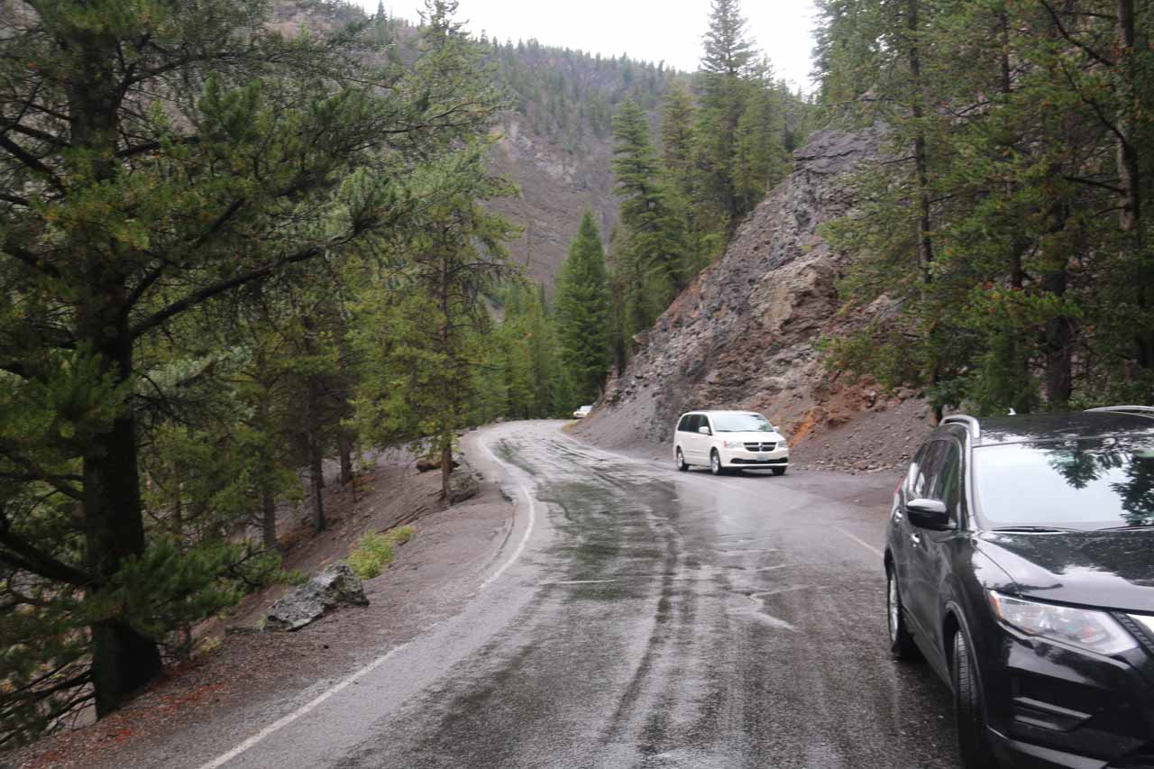 This was the one-way Firehole Canyon Drive