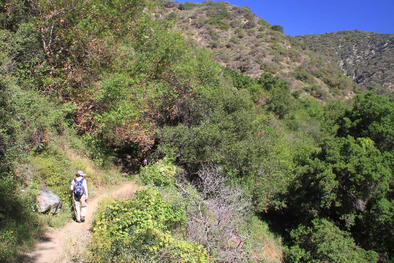 Further along the Fish Canyon Trail