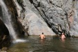 Fish_Canyon_Falls_105_02132016 - On the warm February day we did this hike in 2016, this pair of dudes braved the cold water and went for a swim