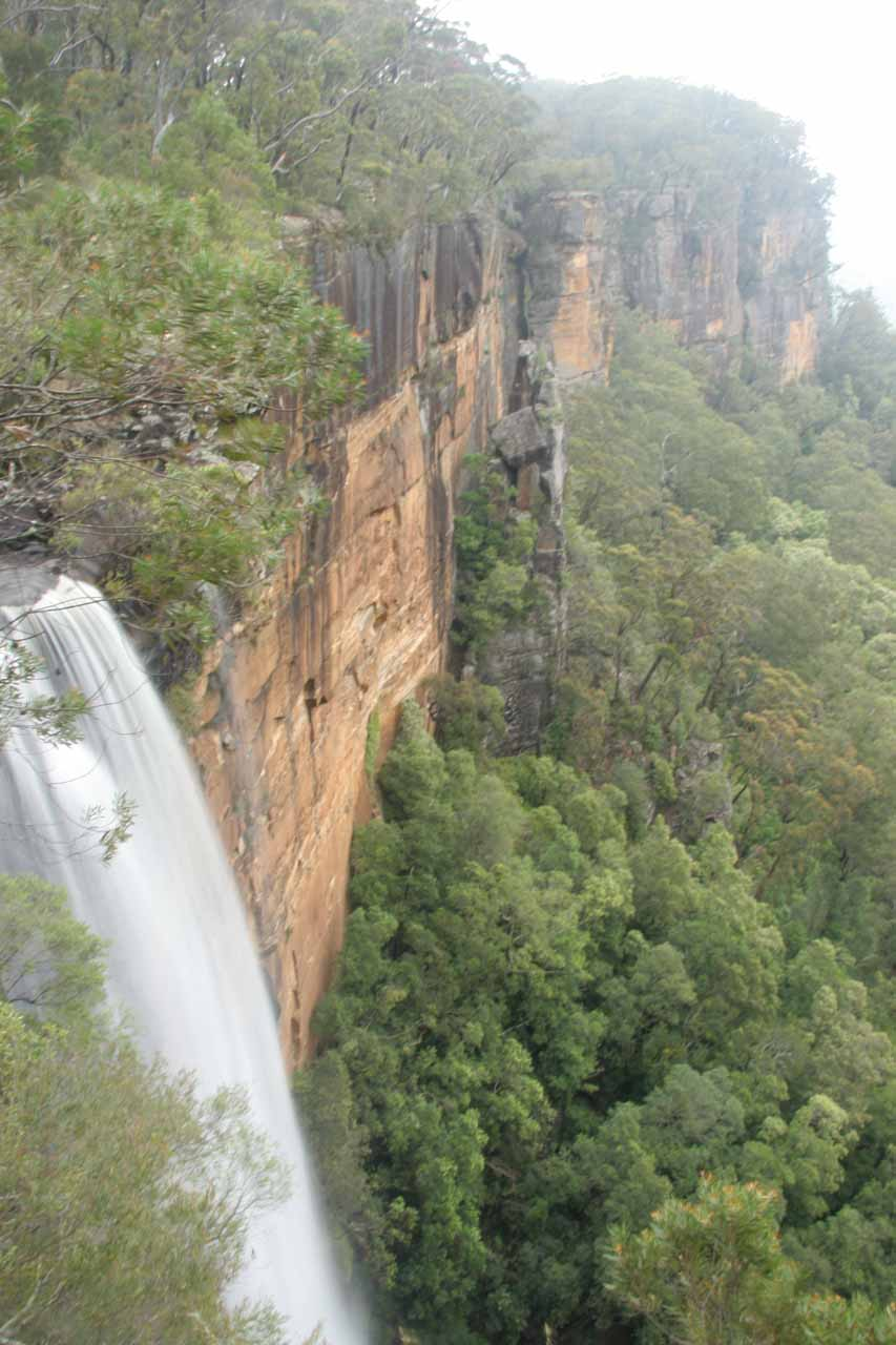 This was the first look at Fitzroy Falls after we had left the visitor centre
