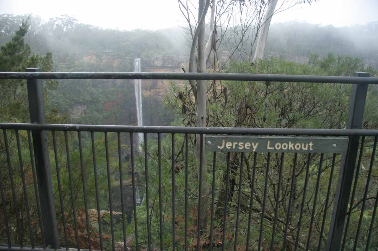 Context of the Jersey Lookout