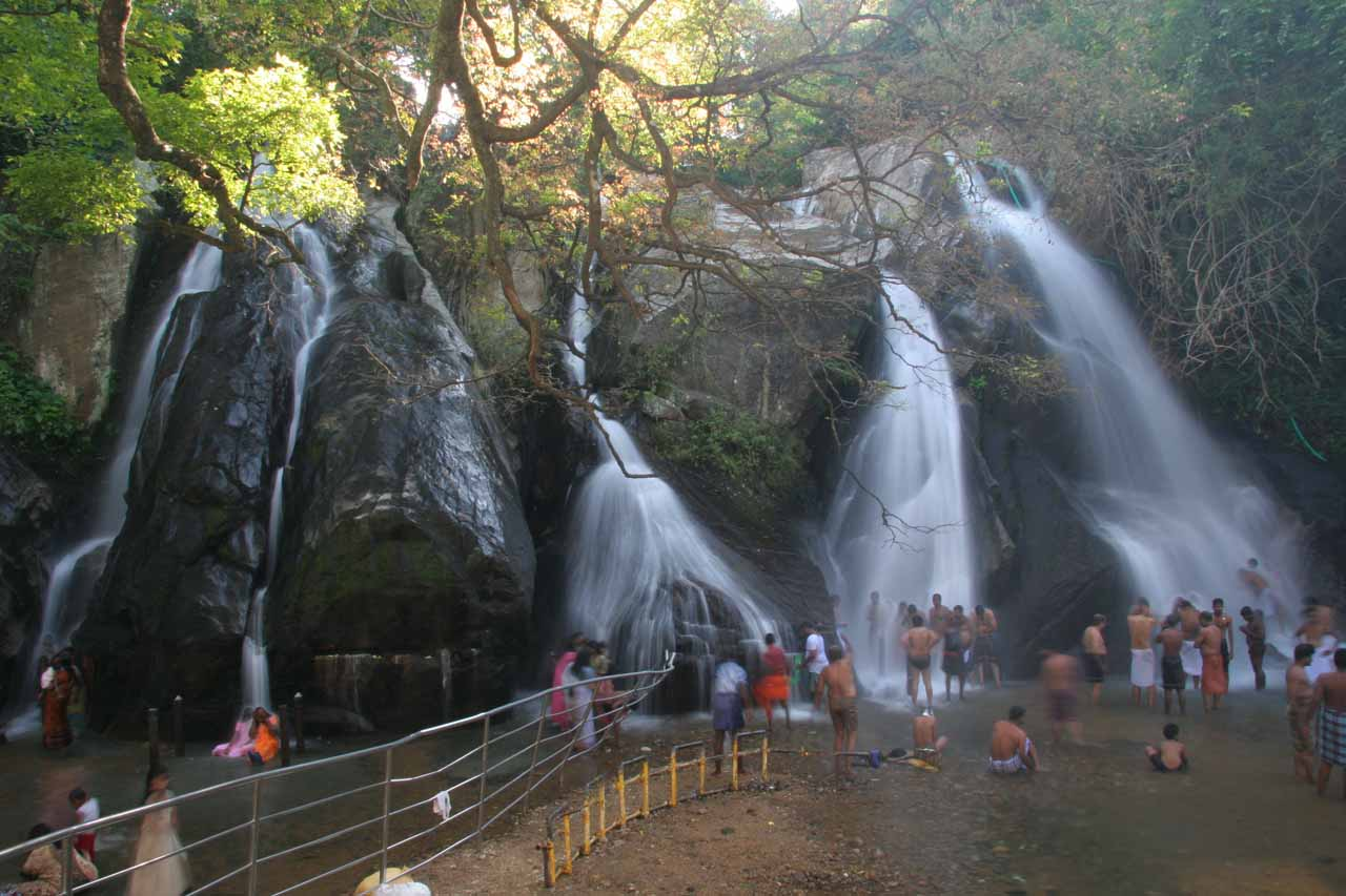 The Kutralam Five Falls