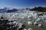 Fjallsarlon_098_08082021 - At the shore of Fjallsarlon with the plethora of icebergs