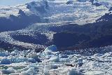 Fjallsarlon_109_08082021 - Looking across the far left extent of Fjallsjokull and the icebergs crowding that side of Fjallsarlon