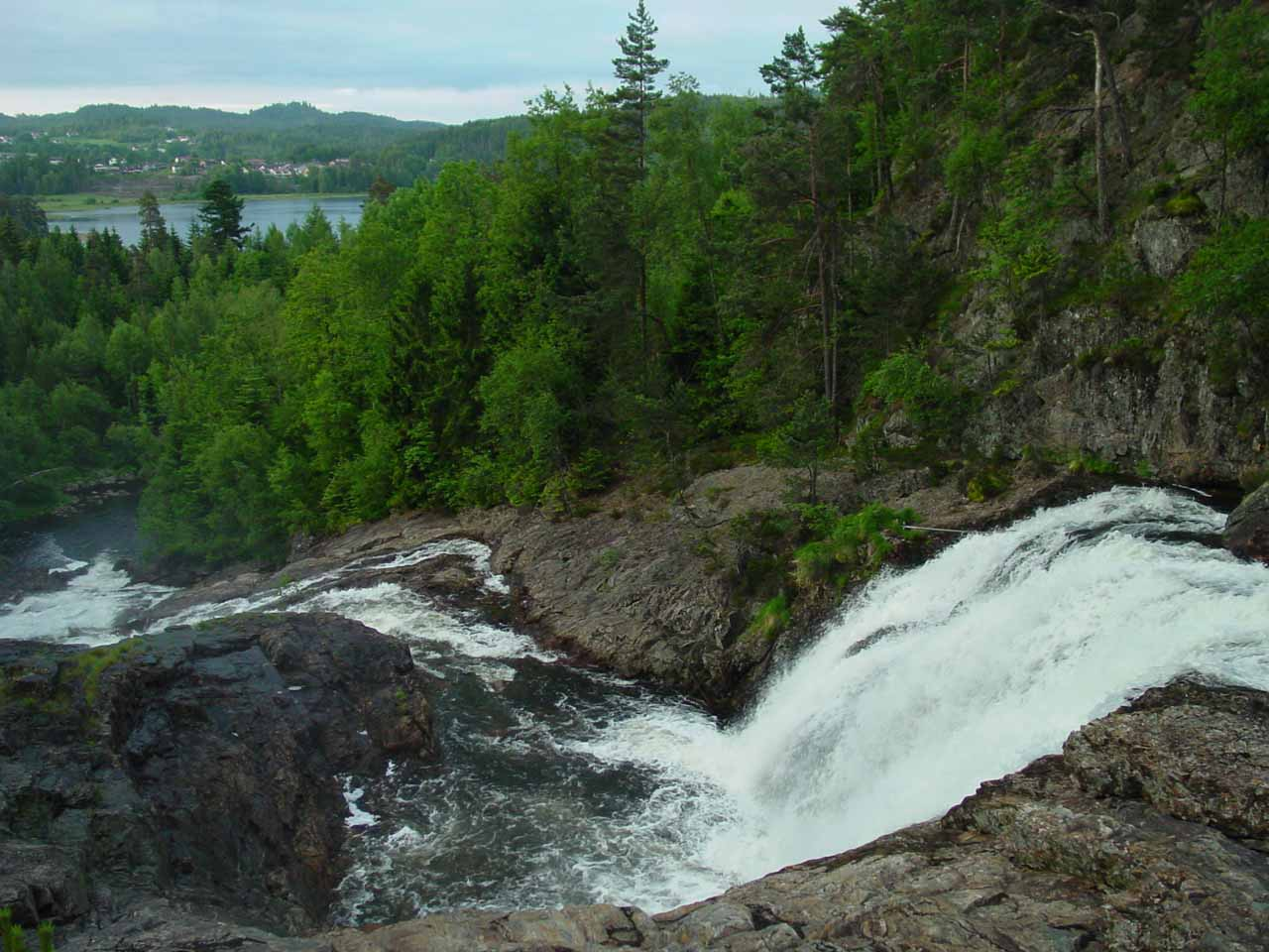 A South Norway Waterfall