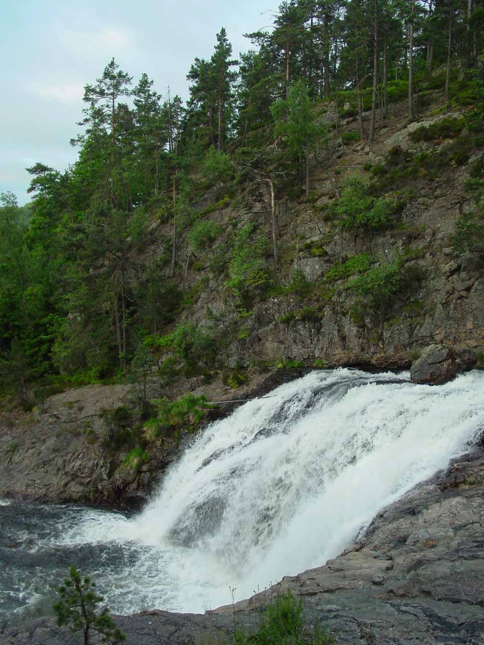 Another look at part of Flakkefossen