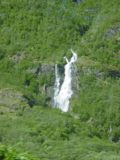 Flam_001_06272005 - View of Brekkefossen (the first waterfall we saw on our 2005 visit) from the Flam Railway
