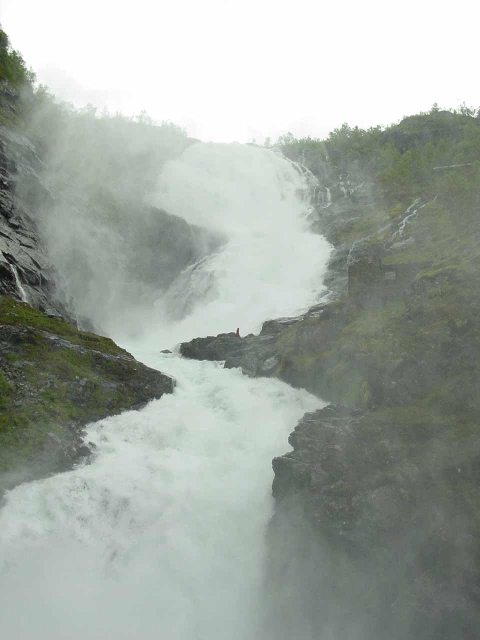 Kjosfossen in Flåmsdalen