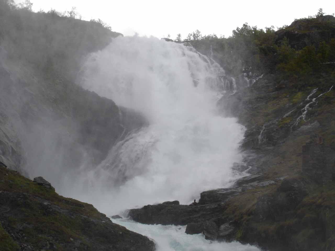 Landscape view of Kjosfossen