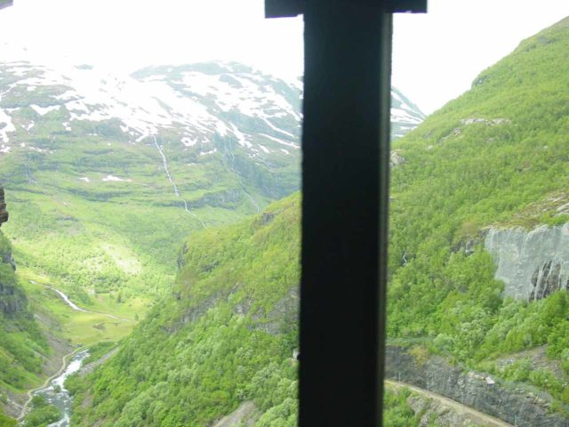 Flam_029_06272005 - Looking out from one of the tunnel openings towards the upper reaches of Flåmsdalen