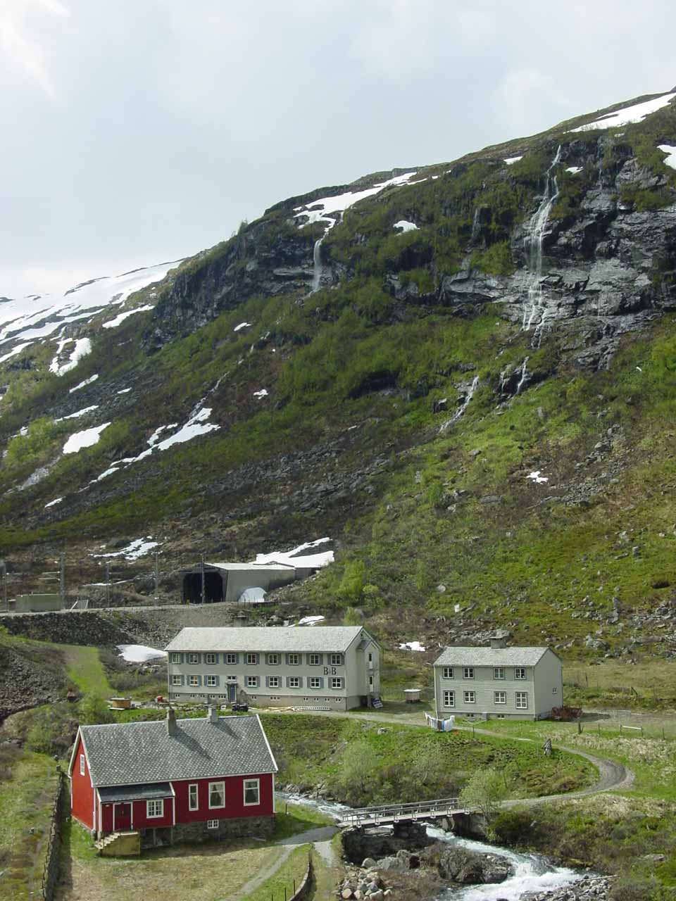 One of the highland stops, which I think was either the Myrdal Station itself or the one before it