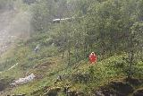Flam_Railway_040_07222019 - Closer look at one of the Huldra dancing in the mist of Kjosfossen as seen from the Flåm Railway