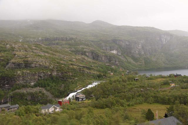 Flam_Railway_055_07222019 - Looking towards Reinungavatnet, which was the lake sourcing Kjosfossen