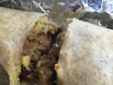 Flaming_Burrito_Grill_001_mom_05202016 - Closer look at the carnitas burrito that was really delicious at the Flaming Burrito Grill in Auburn