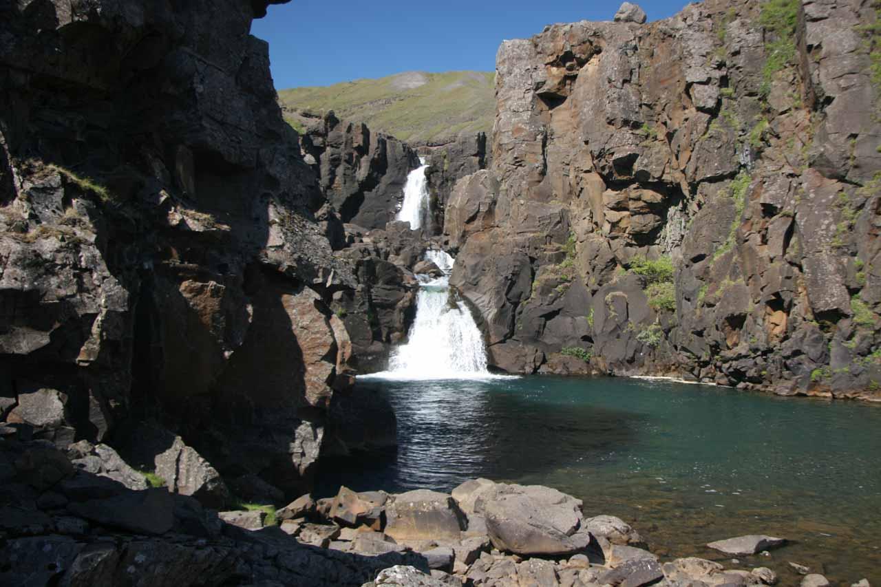 Jónsfoss - the waterfall near the Kárahnjúkar Dam turnoff