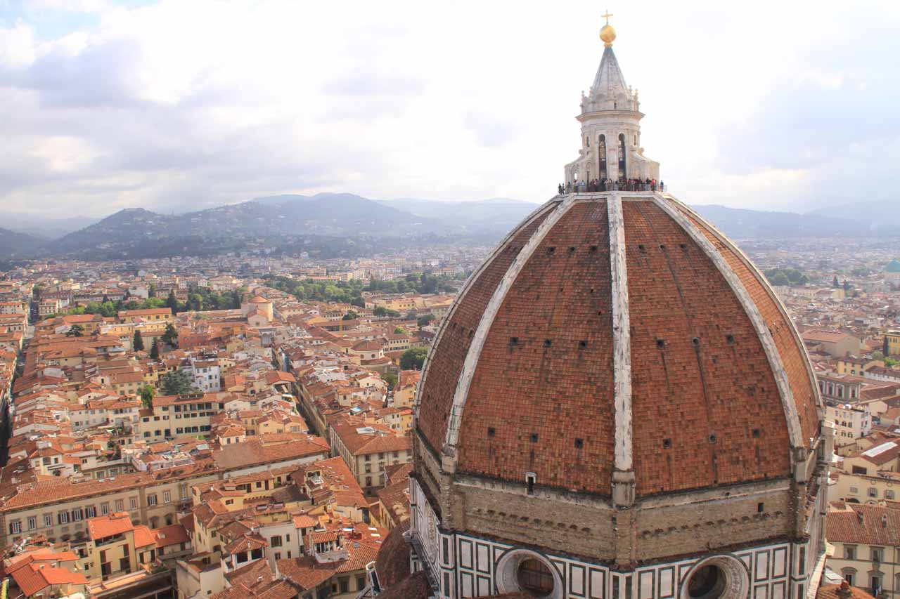 View of Florence from the Campanile at the Duomo