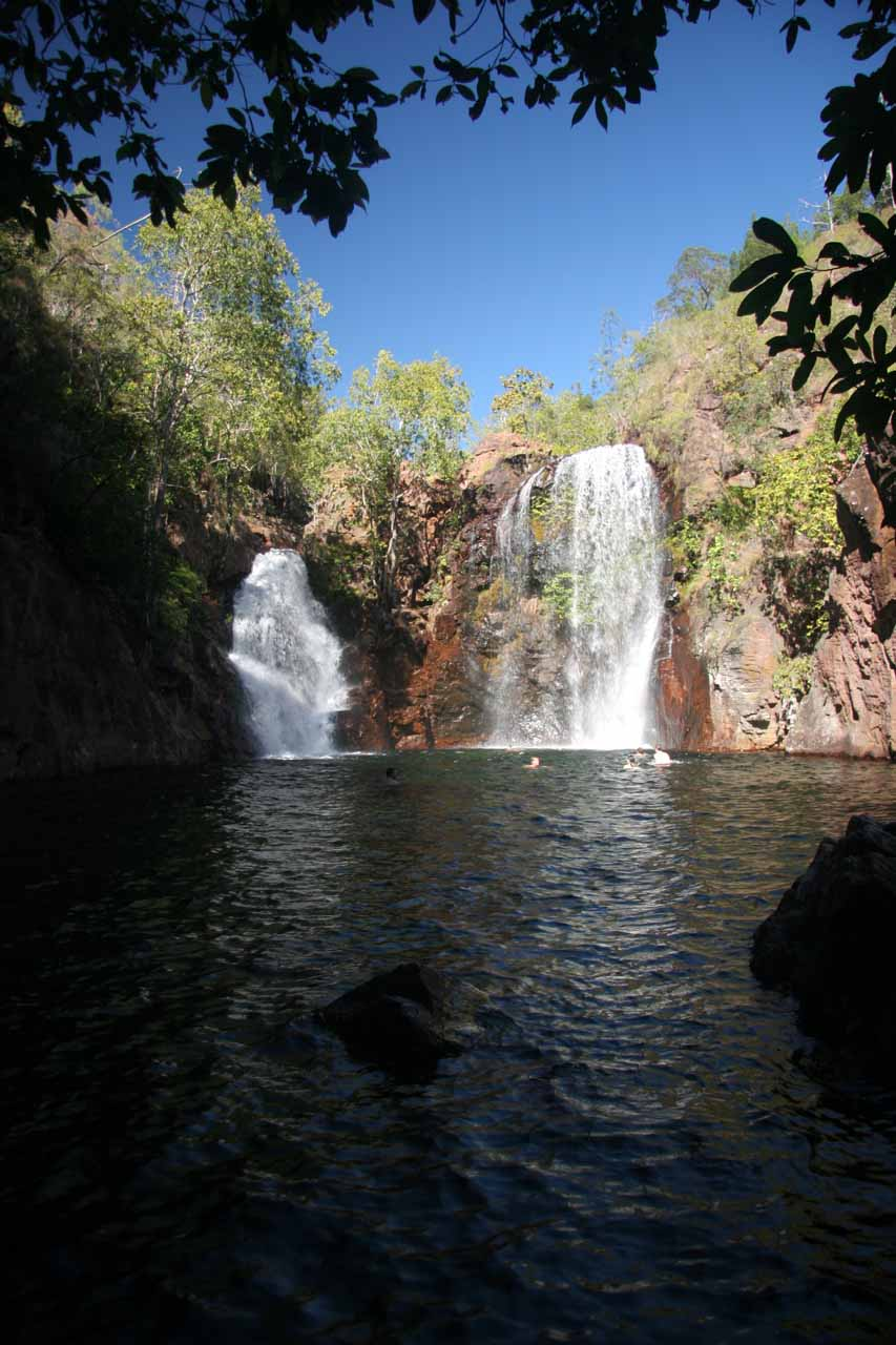 Florence Falls and the plunge pool