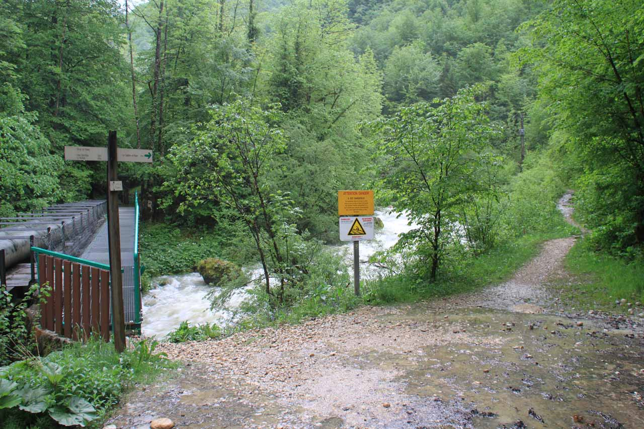 The hydro-looking bridge