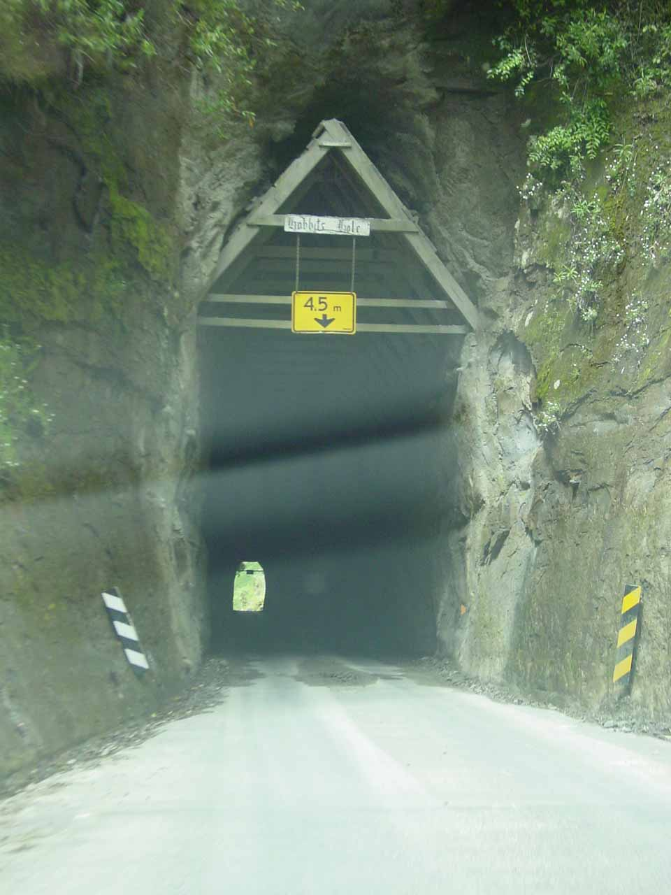 The Moki Tunnel